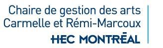 Chaire de gestion des arts Carmelle et Rémi-Marcoux Logo