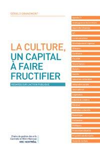 La culture, un capital à faire fructifier